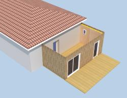 Extension de Maison en Bois en Kit