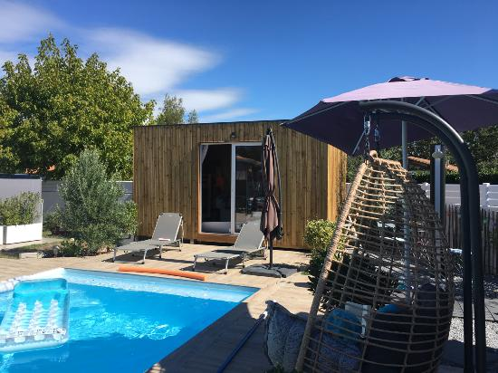 Studio de jardin Pool-House